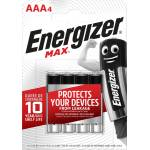 Image of Energizer Batterien max AAA 4 Stk