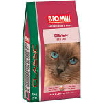 Image of Biomill Cat Beef Classic 10kg