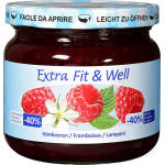 Image of Extra Fit & Well Himbeere 365g