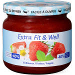 Image of Extra Fit & Well Erdbeeren 365g