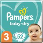 Pampers Baby Dry Gr.3 Midi 6-10kg, 50pces.