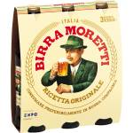 Image of Birra Moretti Lager 3x33cl