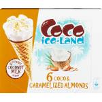 Image of Coco ice-Land Coco & Caramelized Almonds 6x