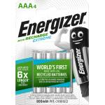 Image of Energizer Accu recharge Extreme AAA 4 Stück