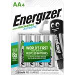 Image of Energizer Accu recharge Extreme AA 4 Stück