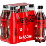 Image of Coca-Cola Zero 6x450ml