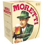 Image of Birra Moretti Lager 6x33cl
