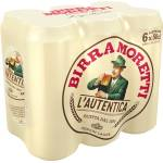 Image of Birra Moretti Lager 6x50cl