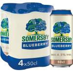 Image of Somersby Blueberry 4x50cl