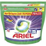 Image of Ariel All-in-1 Pods Color+ 70 WL