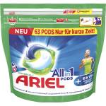 Image of Ariel All-in-1 Pods Universal Extra 63 WL